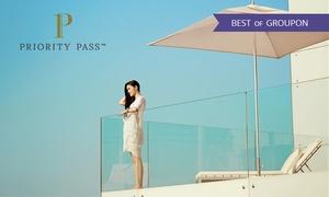 Priority Pass: Bis zu 50% Rabatt auf die Mitgliedschaft bei Priority Pass für den Zugang zu weltweit über 1000 Lounges in Flughäfen