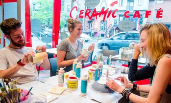 Ceramic Painting, 5 Locations