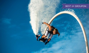 GoFly Water Aviation: $69 for a 30-Minute Flyboard, Jetovator, or Hoverboard Flight from GoFly Water Aviation ($129 Value)
