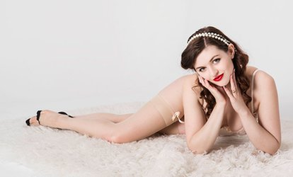 Boudoir Photoshoot with Refreshment, Print Image for One or Two at Evie Smith Photography (Up to 94% Off)
