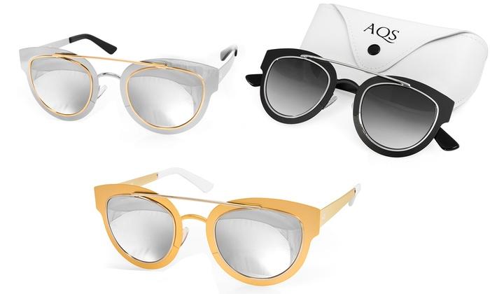 3683e2e775c8a Lunettes Soleil AQS Jolene   Groupon Shopping
