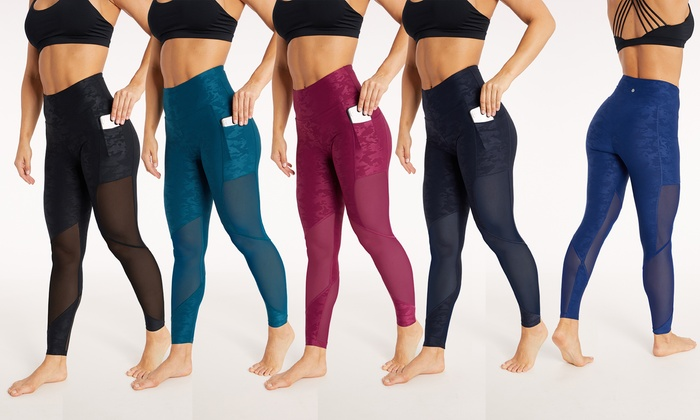 for sale factory price best prices Up To 67% Off on Bally Mesh Pocket Camo Leggings | Groupon Goods