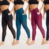 Bally Fitness Women's High-Waist Power Tek Camo Leggings with Pockets