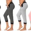 Women's Plus-Size Capri Joggers (4-Pack)