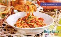Two- or Three-Course Meal with Drinks for Up to Six at Bella Italia (Up to 52% Off)