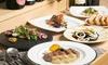 大阪府/北新地 魚介&肉料理・パスタなどオススメコース7品+カフェ+ 2ドリンク