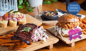 Ultra Lounge Bar & Cafe: Lunch and Drinks for Two ($39) or Four People ($78) at Ultra Lounge Bar & Café, Surfers Paradise (Up to $158 Value)
