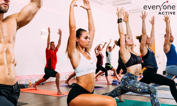 Five Hot Yoga Classes at a Choice of Five Locations with Everyone Active