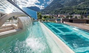 Andorre : accès espace Thermoludique  Escaldes - Engordany
