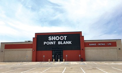 image for Shooting Range Package for Two With or Without Ammo or LTC Class for One at Shoot Point Blank (Up to 53% Off)