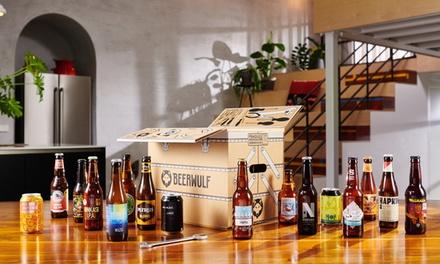 16 ambachtelijke & speciale bieren van BEERWULF, inclusief verzending