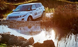 Land Rover Experience East of England: Sole Occupany Half-Day Off-Road Driving Experience for One at Land Rover Experience East of England (42% Off)