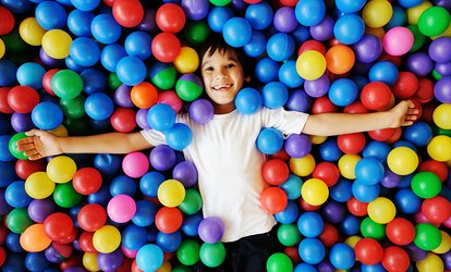 image for One 60-Minute Indoor Play Area Pass for One or Two Children at Keiki Pa'ani (Up to 40% Off)