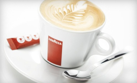 $10 for Four Groupons, Each Good for $5 Worth of Espresso and Café Cuisine at Lavazza Espression ($20 Total Value)