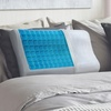 PharMeDoc Contoured Memory Foam Pillow with Cooling Gel