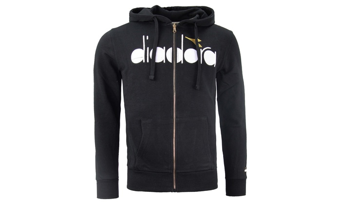 Hoodie zippé pour homme Diadora