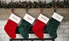 Up to 86% Off Personalized Velvet Stocking from Qualtry