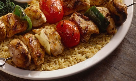 Greek Cuisine for Two or Four or More at Casablanca Greek Mediterranean Cuisine (Up to 48% Off)