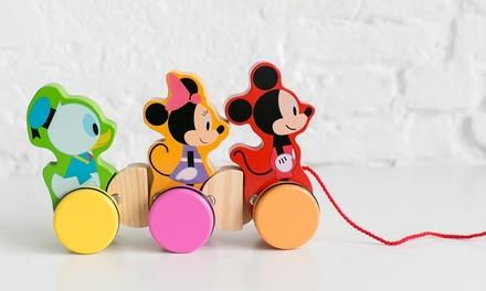 Giocattolo di legno Mickey