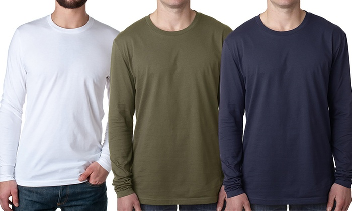 Premium Fitted Long Sleeve Men...