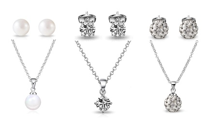 Philip Jones Pendant and Earrings Set
