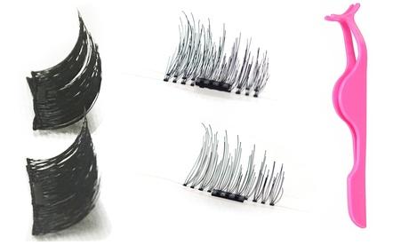 1, 2 o 3 pares de pestañas magéticas con o sin aplicador