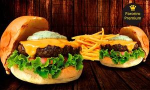 Forneiro Steakhouse: Hambúrguer de costela + fritas para 2 pessoas no Forneiro Steakhouse - Cambuí