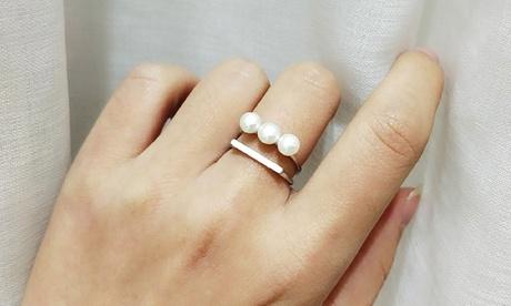 1 o 2 anillos de plata de ley Van Amstel