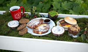 Country Cake Cupboard: Café Food and Drinks at Country Cake Cupboard (40% Off). Two Options Available.
