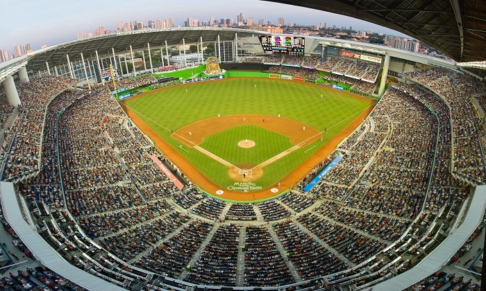 Miami Marlins - Marlins Park: One Ticket to a Marlins Game on a Kids Eat Free Wednesday Night at Marlins Park (Up to 20% Off). Three Dates Available