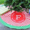 Personalized Christmas Tree Skirt from Swirl Designs (41% Off)