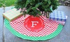 Swirl Designs: Personalized Christmas Tree Skirt from Swirl Designs (43% Off)