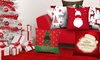 2x Christmas Design Pillowcases