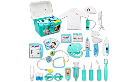 DEAO 30Piece Complete Doctor and Dentist Kit