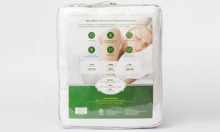 From $25 for a Microfiber Waterproof Mattress Protector (Don't pay up to $79)
