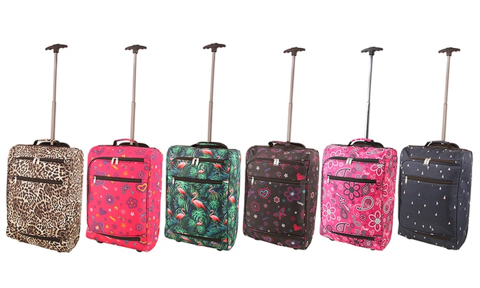 One or Two Lightweight Cabin Trolley Cases