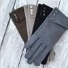 Maze Exclusive Fleece Device Sensitive Button Gloves