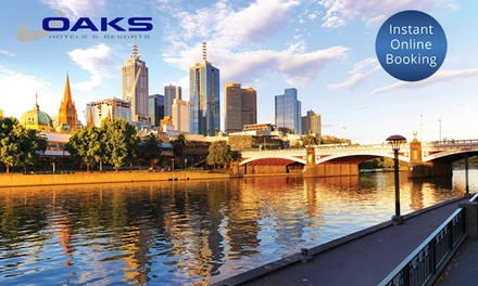 Southbank, VIC: Two, Three or Seven Nights for Two or Four People at Oaks Southbank