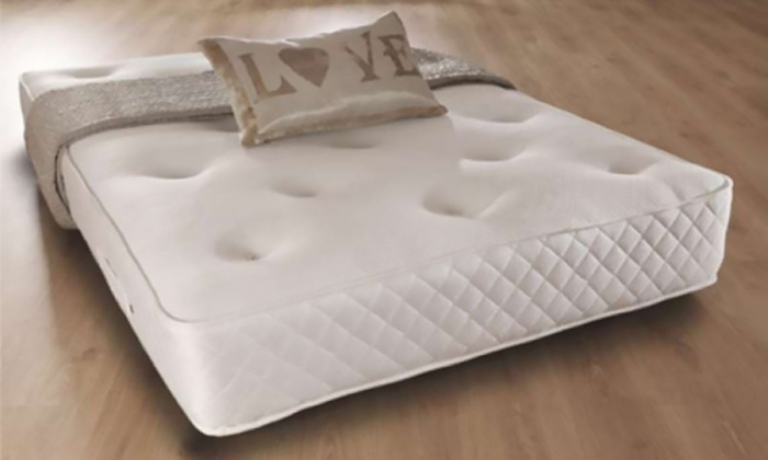 Sarenne Orthopaedic Memory Foam Bonnel Sprung Mattress With Free Delivery for £89