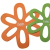 Evelots Large Felt Flower Kitchenware Pan Protectors (6-Pack)