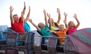 Package With Unlimited Attractions, Arcade Tokens, And Food For Two Or Four At Seven Peaks Lehi (up To 51% Off)