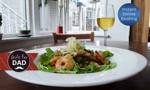 Kelburn Village Pub: Choice of Two ($19), Four ($38), Six ($57) or Eight Lunch Mains ($76) at Kelburn Village Pub (Up to $176 Value)