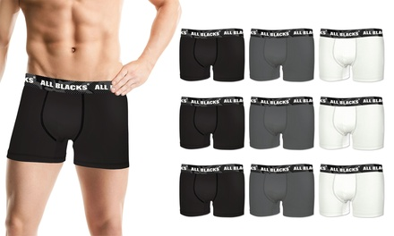 Pack de 3, 6 o 12 boxers para hombre All Blacks