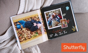 Shutterfly: 8x8, 8x11, 10x10, or 12x12 Custom Photo Book from Shutterfly (Up to 67% Off)