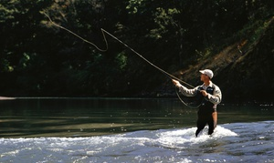 NC Fly Fishing Guide Service: $138 for $250 Toward Full-Day Guided Fly Fishing Wade Trip and Lesson with NC Fly Fishing Guide Service