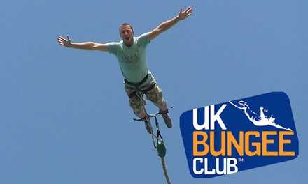 groupon.co.uk - Bungee Jump for One or Two at UK Bungee Club, Ten Locations