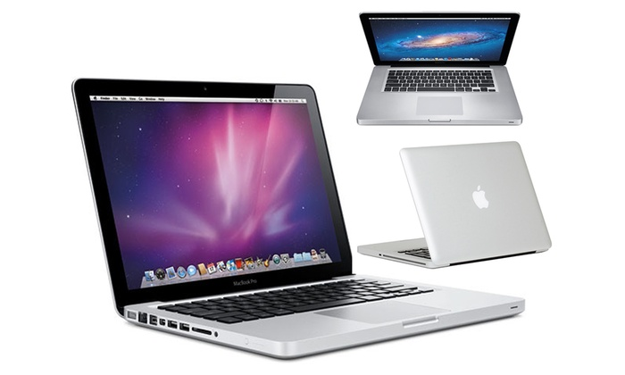 apple macbook pro reconditionn groupon. Black Bedroom Furniture Sets. Home Design Ideas