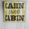 Slatwall Cabin Wall Decor