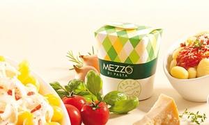 Mezzo Di Pasta Poitiers: Menu Trio Classics comprenant pâtes, boisson et dessert pour 2 personnes à 9,99 € au restaurant Mezzo Di Pasta Poitiers