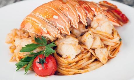Menu di mare di 3 o 4 portate o menu Exclusive alla Trattoria Marè